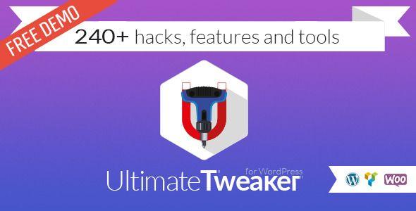 Ultimate Tweaker for #WordPress by Amino-Studio | CodeCanyon | #hacks #tools http://bit.ly/2fy5ui3