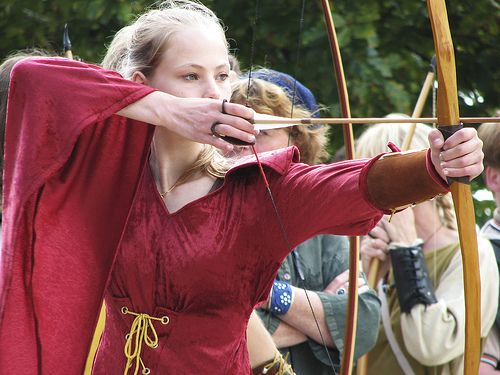 Long Bow and dress ;-)