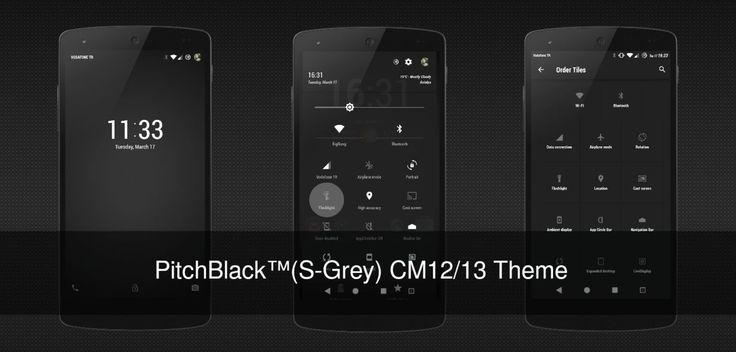 Pitchblack  (S-Grey) CM13 / 12 v2.8  Viernes 18 de Diciembre 2015.Por: Yomar Gonzalez   AndroidfastApk  Pitchblack  (S-Grey) CM13 / 12 v2.8 Requisitos: 5.0  Resumen: Las combinaciones de acento de plata gris y primaria gris material oscuro fondo de secundaria y panel.toggles de notificación ahora también transparentes fondos están atenuados out..Looks increíble.DisfrutarSólo para CM12 Temático Motor Qué es temático  Tono (Nuevo)  Sonido de notificación (Nuevo)  Fuentes  Marco de referencia…