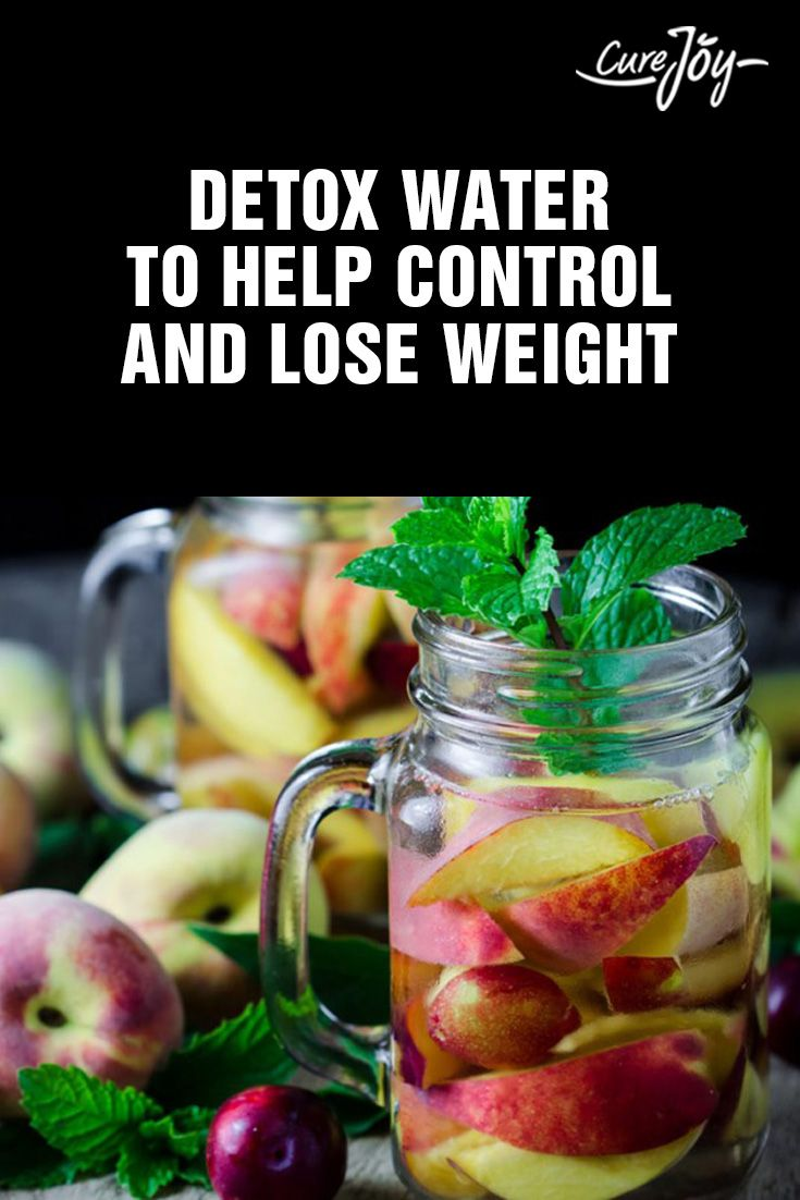 Detox Water To Help Control And Lose Weight ==>