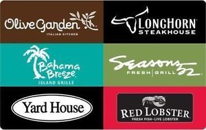 Buy Buy a $50 Darden Restaurants Gift Card & get a bonus $10 Code Email delivery