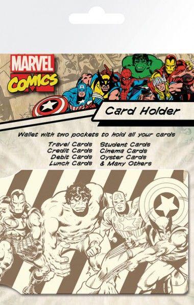 Marvel Bohaterowie Retro - okładki na dokumenty i karty