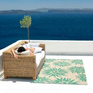Tropical Outdoor Rugs Design