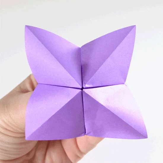Fold a Fortune Teller - Easy Origami Tutorial - Dream a Little Bigger