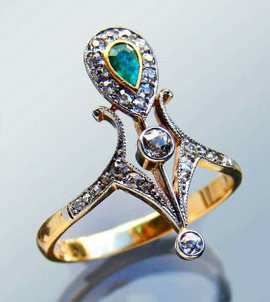French ring circa 1900