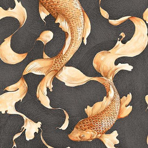 43 best wallpaper images on pinterest bathrooms decor for Koi wallpaper for walls