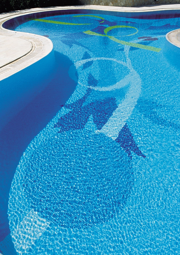 15 best Different swimming pool tiles images on Pinterest ...