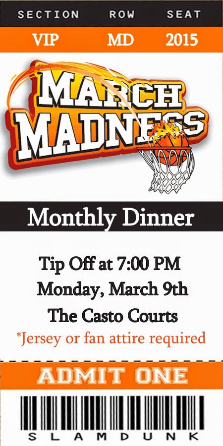 Invite and Delight: March Madness Dinner