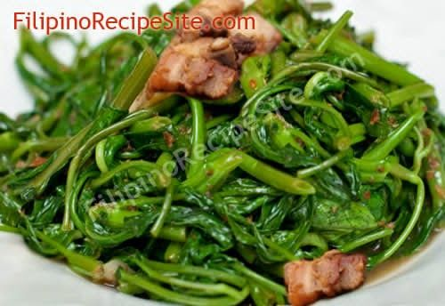 Kusina Master Recipes: Adobong Kangkong (Water Spinach) Recipe