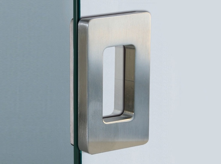 Small Sliding Glass Door Handles | Square Sliding Door Handle Small With  Holes In The