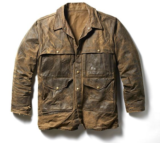 Filson field jacket in their legendary oil finish Tin Cloth - it just gets better with age