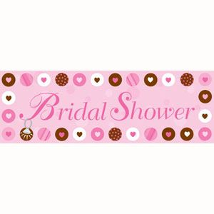 Bride To Be Dots Giant Bridal Shower Party Banner - $8.95 See more at http://myhensparty.com.au/