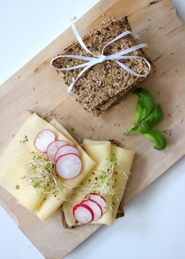 Havreknekkebrød med maldonsalt