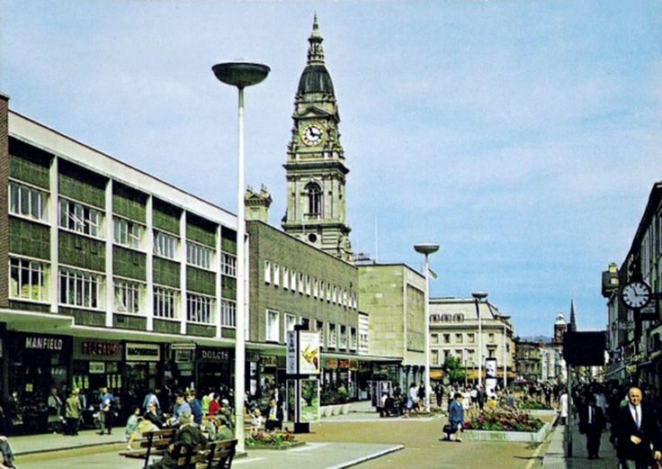 Historic Images of Bolton, Lancashire, UK