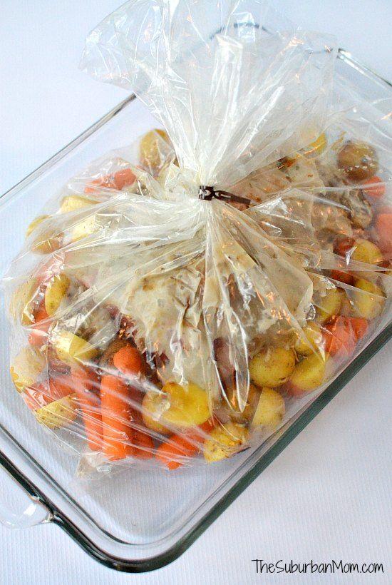 Oven Bag Pot Roast Recipe