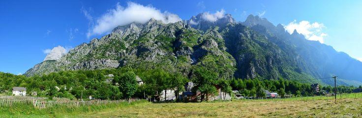 Albánie - kraj řeky Valbone