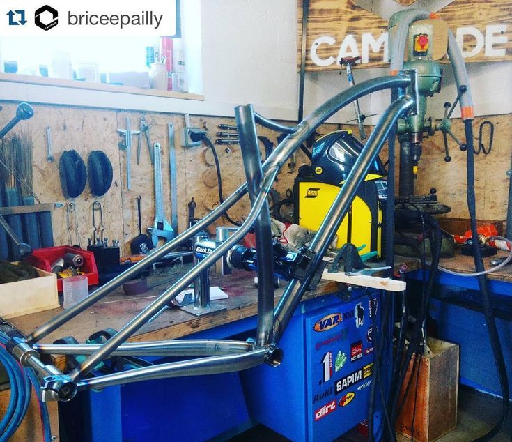 "Brève #steelframe #mtb #simpletrackespresso #caminade #madeinfrance #boost #275plus #29er  New MTB frame almost ready: welcome to the SimpleTrack Espresso ready for 275 / 29"" / Boost. #steelframe #MTB #simpletrackespresso #caminade #madeinfrance #boost #275plus #29er http://ift.tt/1T7bZIO  Brève #steelframe #mtb #simpletrackespresso #caminade #madeinfrance #boost #275plus #29er  contact@caminade.eu (Caminade) : March 24 2016 at 08:06AM http://ift.tt/1T7bZIM"