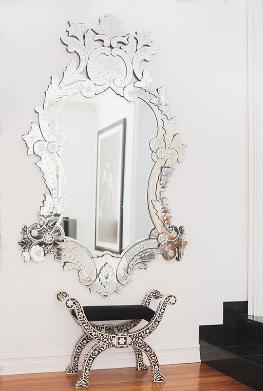 Pin For Later: How To Add Personality To A Neutral Home A Well Placed Mirror  Will Open Up A Small Room And Will Help Give Purpose To Awkward Blank Walls.