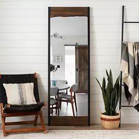 Floor Mirrors | Full Length Mirror | Kirklands in 2020 ... on Floor Mirrors Decorative Kirklands id=84889