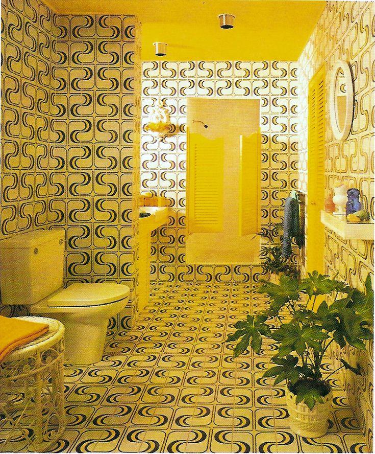 Classic 1970s bathroom.