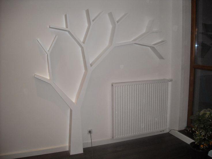 Półka jak drzewo 210x210x16cm