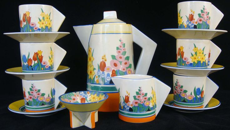 1000 Ideas About Clarice Cliff On Pinterest Deco Tea