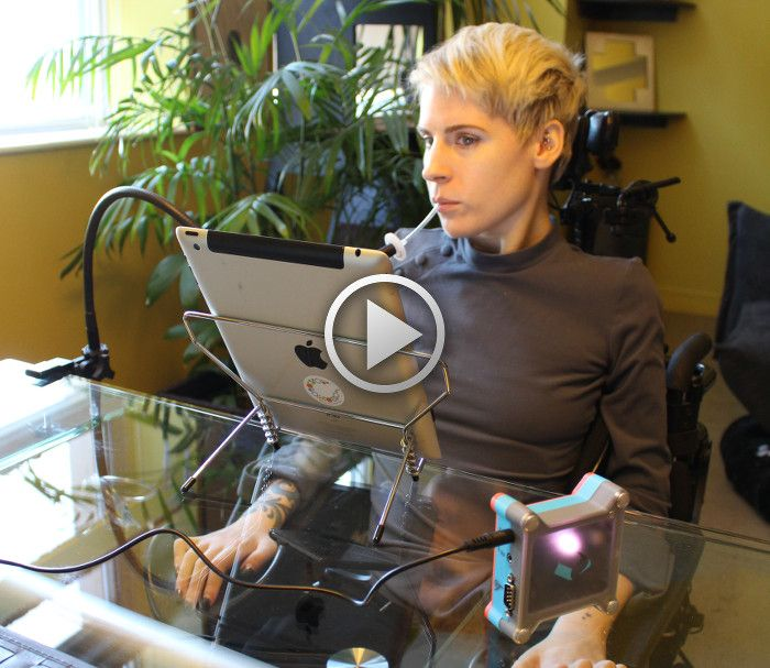 4 ways Quadriplegics can use an iPad/iPhone