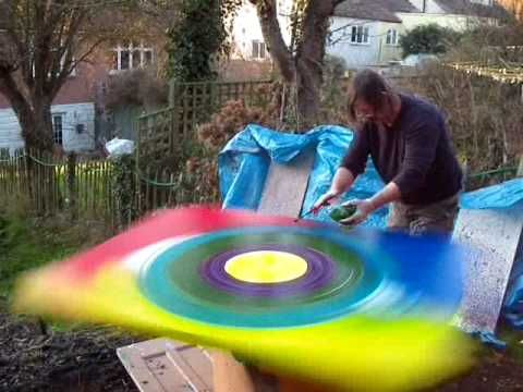Brian John Spin Painting, wanna try!