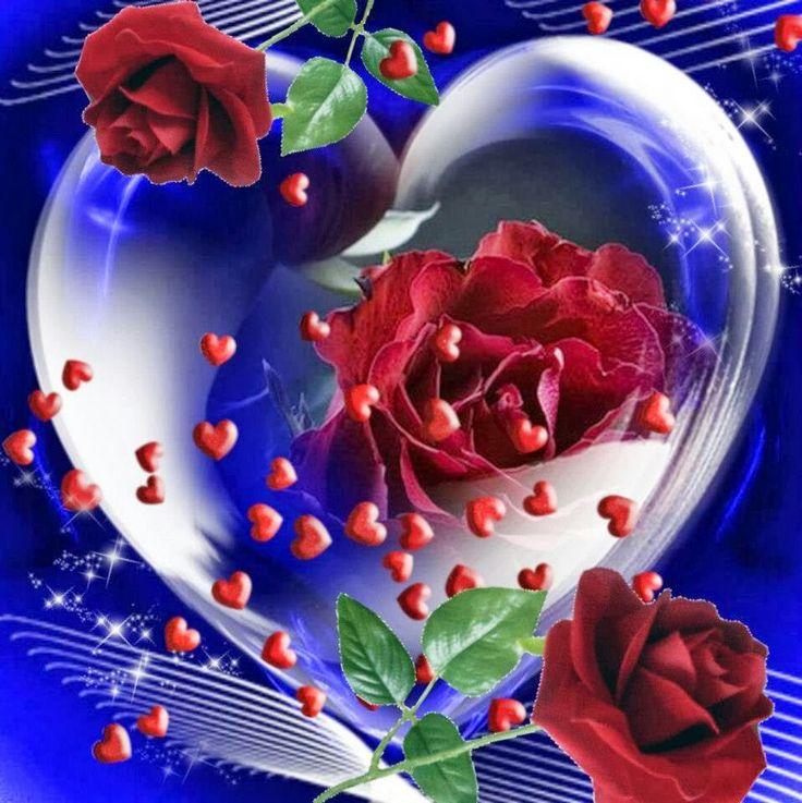 corazones y rosas CORAZONES Y AMOR I love heart, Love rose