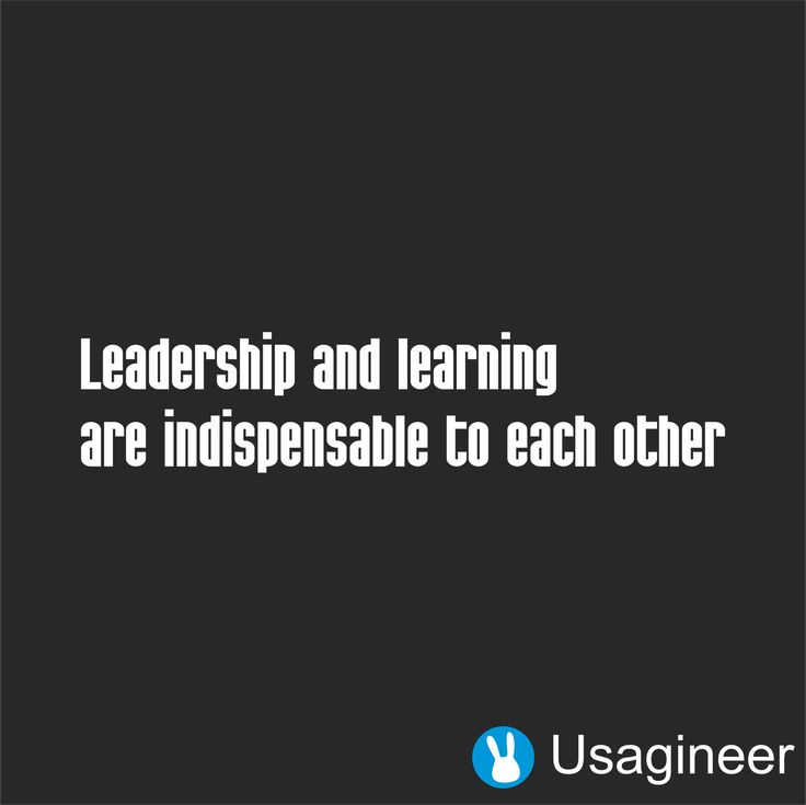 LEADERSHIP AND LEARNING ARE INDISPENSABLE TO EACH OTHER QUOTE VINYL DECAL STICKER