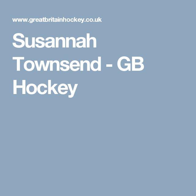 Susannah Townsend - GB Hockey