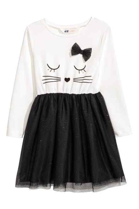 Платье с тюлевой юбкой