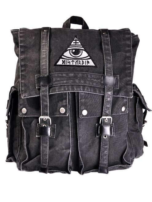 Disturbia Clothing - All-Seeing Backpack #disturbiaclothing