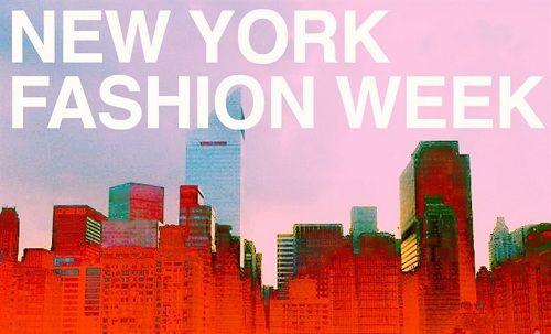 Calendario Oficial de la New York Fashion Week Primavera-Verano 2014