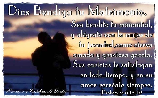 Matrimonio Palabra Biblia : Dios bendiga tu matrimonio imagenes mensajes cristianas