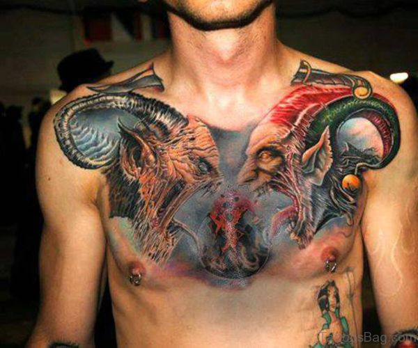 Amazing Tatoo For Men: 19 Best Amazing Chest Tattoos For Men Images On Pinterest