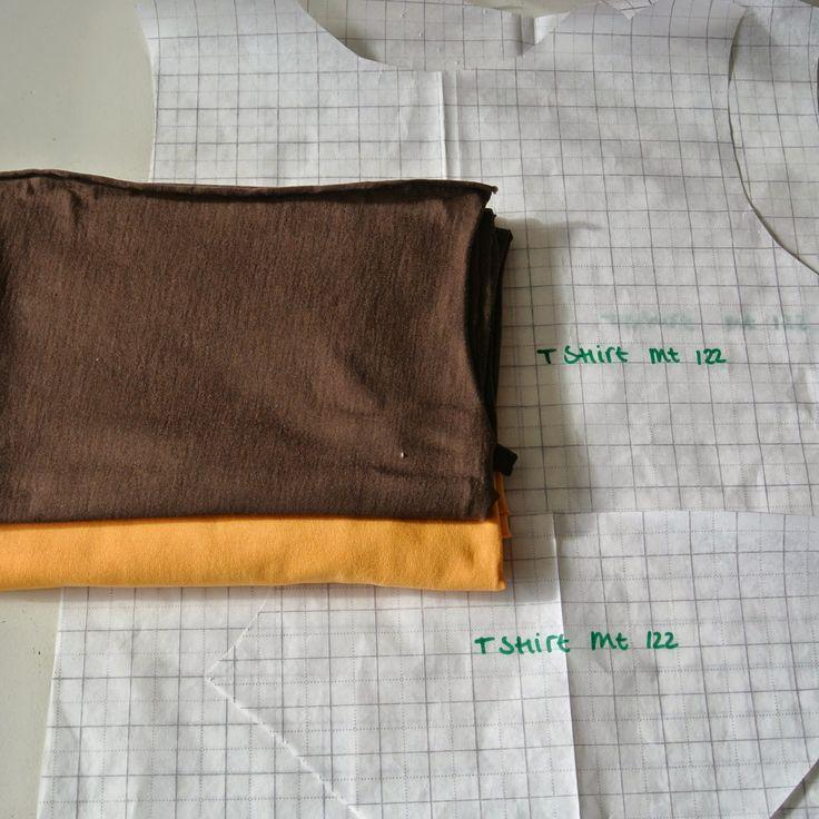 T-Shirt Sew Along: Cutting the Fabric deel 1