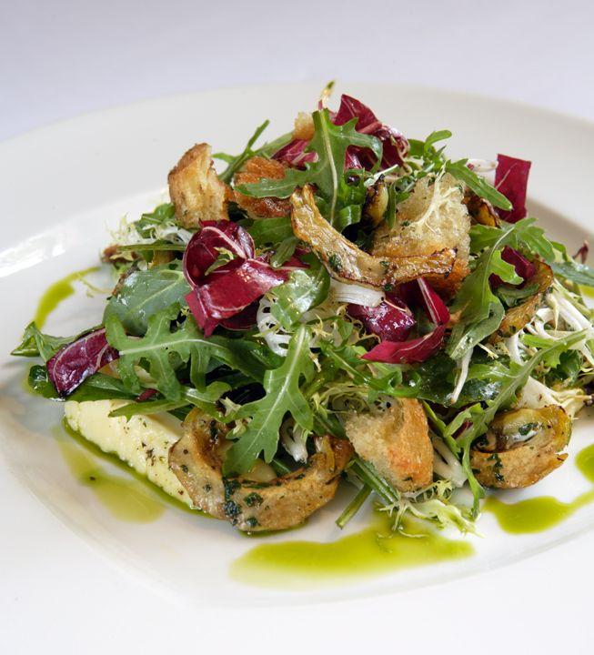Jardiniere Warm Bread Salad Recipe
