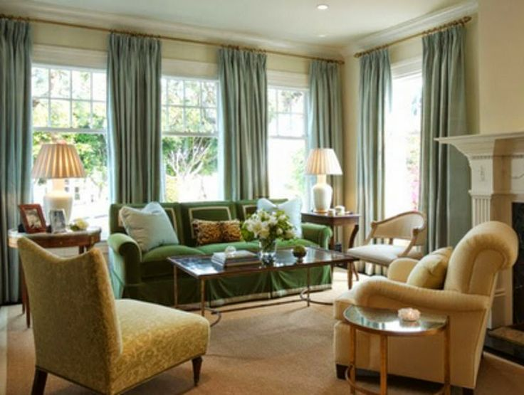Curtain Ideas: Curtain Ideas For Living Room With 4 Windows