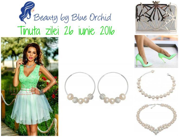 Ținuta zilei 26 iunie 2016 - Beauty by Blue Orchid