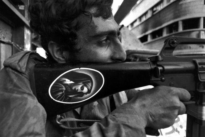 Ferdinando Scianna.  Beirut, 1976