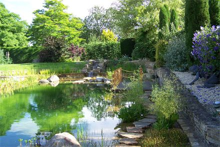 A beautifully natural, clean & healthy swimming pool designed by Michael Littlewood, based in the UK. Requires very little maintenance, no chemicals. Can be built from scratch or your old chemical filled pool can be converted. Michael can supply complete drawings.
