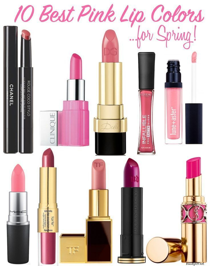 10 Best Pink Lip Colors for Spring!