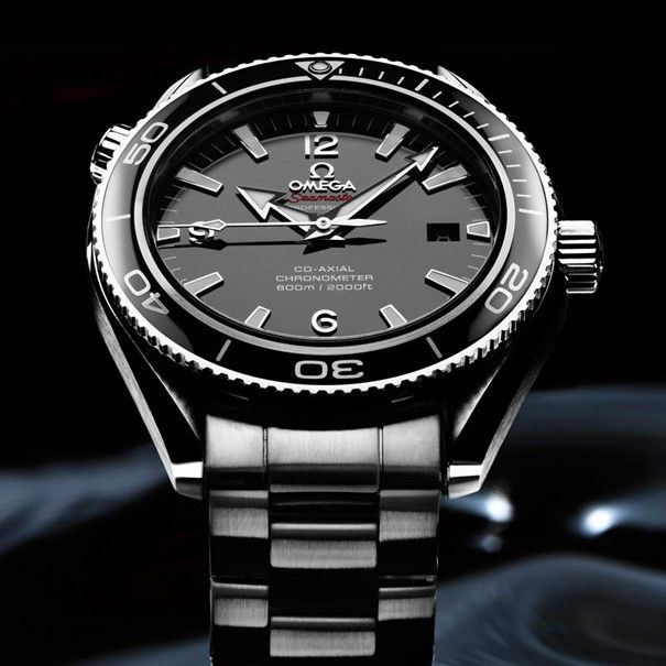 Omega Seamaster Planet Ocean Liquidmetal  dream watch. that ceramic bezel!!!!