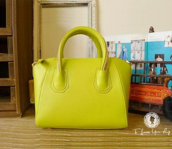 Mustard Zipper Handle Leather Handbag Only £85 #gifts #fashion