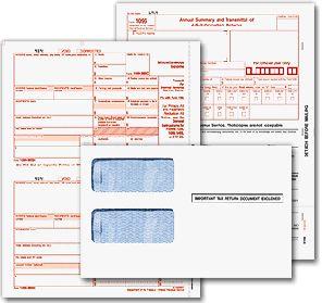 Set up a vendor and print 1099/1096 forms