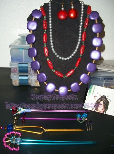 Lulu Final Fantasy Cosplay bundle  All jewerly by CosplayPropsEtc