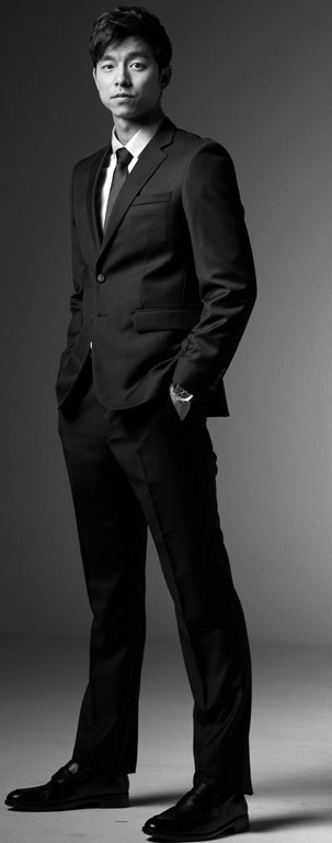 Gong Yoo suited up