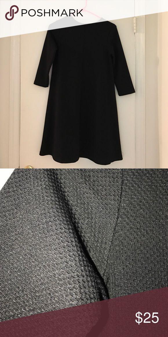 Mod a line sheath ASOS black dress Super cute and mod ASOS A line black dress. Such a cute sheath dress fit with nice sturdy textured fabric. ASOS Dresses Mini