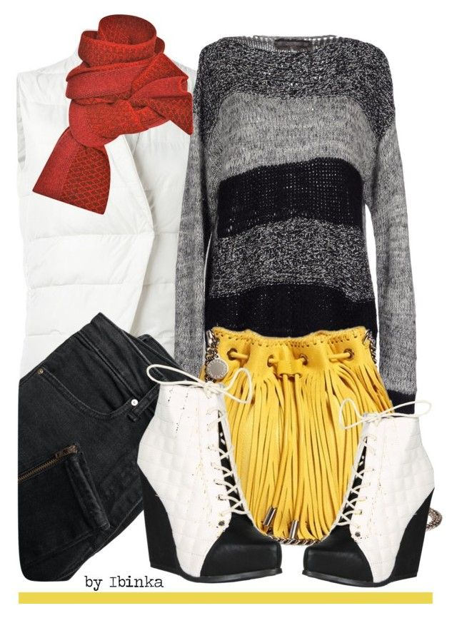 Sweater Weather by ibinka on Polyvore featuring polyvore, fashion, style, Mash Queen, Eleventy, MANGO, Qupid, STELLA McCARTNEY, Prabal Gurung and clothing